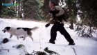 War Vet Finds Healing Thrill in Adventure Therapy with Cat and Dog