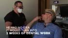 Dentist pays $15,000 bill for military veteran's dental work