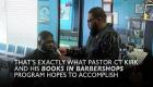 Pastor puts books for kids in barbershops