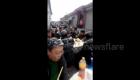 Villagers hold wedding banquet under snowfall