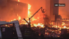 Huge fire erupts at apartment complex in Boston