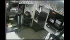 WATCH: Robbery suspect climbs through drive-thru window