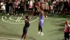 D'Angelo Russell RUSHED by Brooklyn Fans After Hitting Streetball Game-Winner