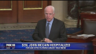 Sen. John McCain receiving treatment at Walter Reed Medical Center