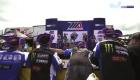 MotoAmericaVIR Supersport Race 1 Podium Celebration