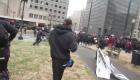Trump Anarchy protestors
