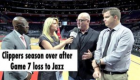 The Clippers lose Game 7 against the Jazz to end their season