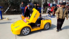 Grandfather builds electric Lamborghini replicas for grandson