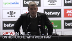 Slaven Bilic uncertain of West Ham future after humiliating defeat to Brighton