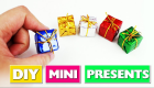 DIY Miniature Gifts - DIY Minis
