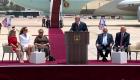 "Israeli Prime Minister Benjamin Netanyahu called Trump ""a true friend"" to Israel"