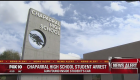 Police arrest Chaparral High School student for having gun on campus