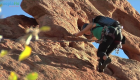 Fearless Woman Rock Climbs To New Heights For Love and Community