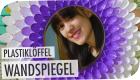 Spiegel aus Loffeln DIY| breedingunicorns | #flipdiy