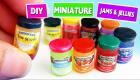 DIY Miniature Jelly and Jam Jars - DIY MINIS