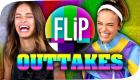 OUTTAKES  mit AMissMelle | FLIP | #flipspecial